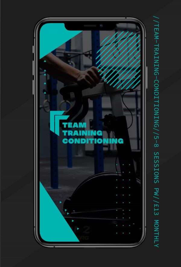 TEAM TRAINING PROGRAMME Fitness Training and CrossFit Programmes for athletes Conditioning Programmes