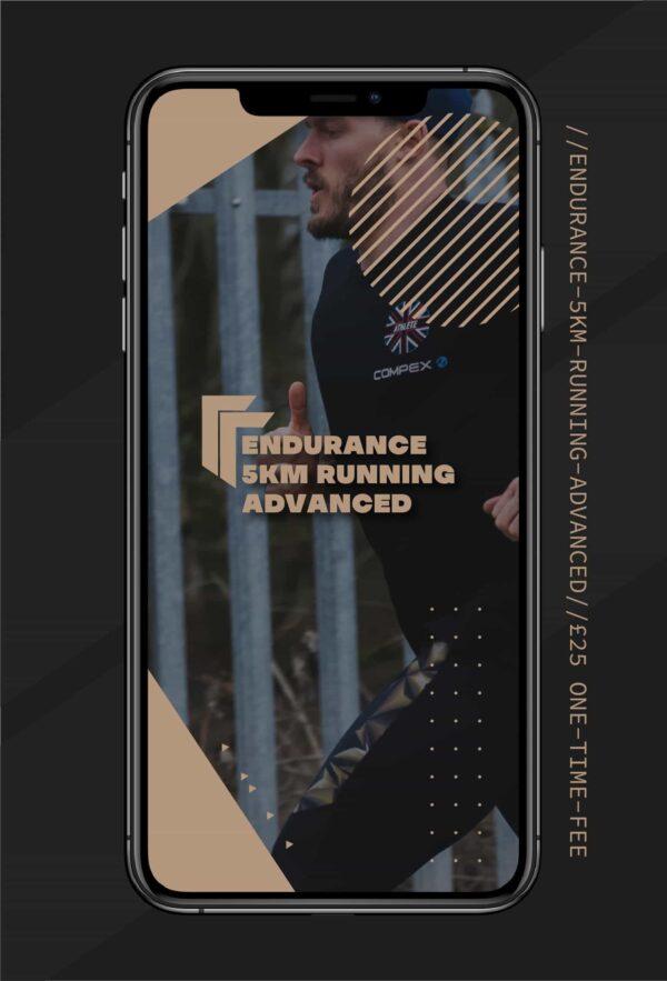 Advanced 5km running program