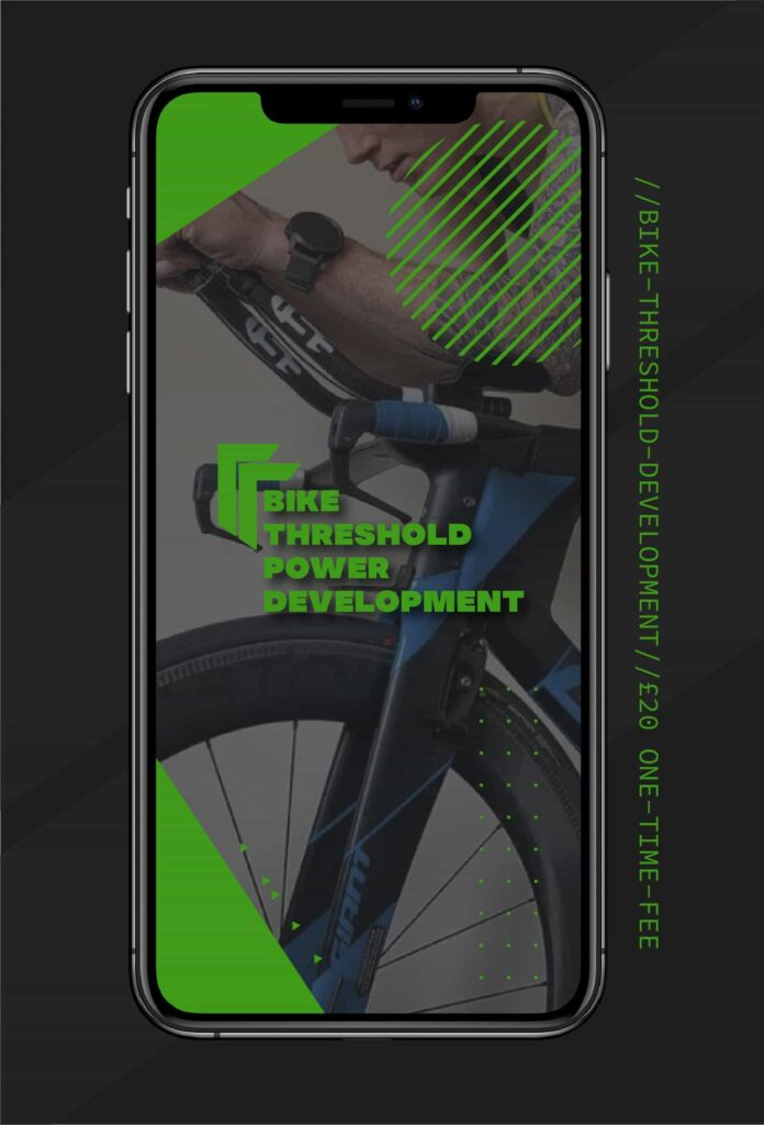 Bike Threshold Power Development training programme