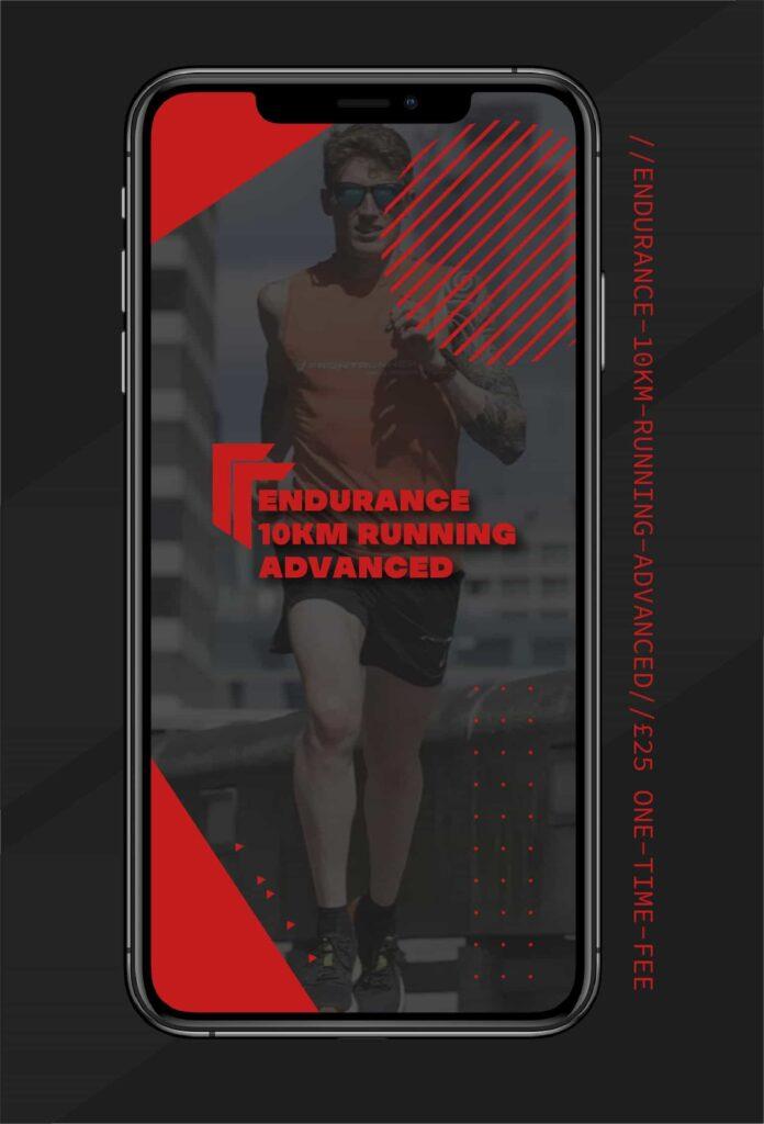 Ironman and triathlon training 10km running