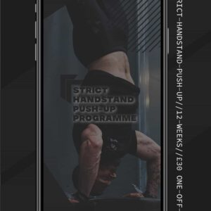 Strict Handstand Push-up Training
