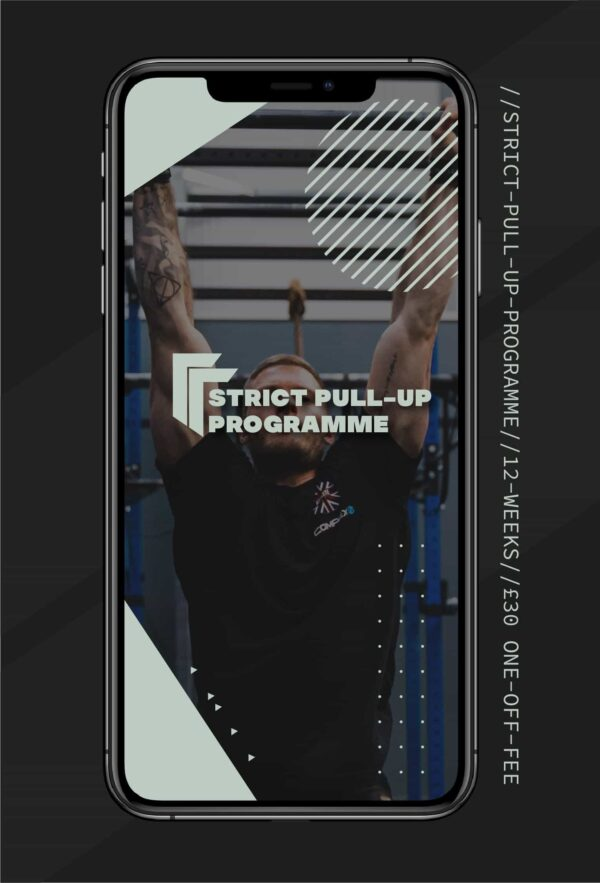 Strict Pull up Programme Training for Pull-ups